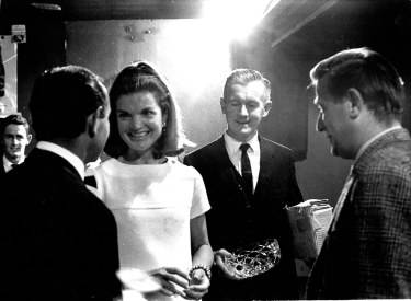 Jackie Kennedy in Dunhill